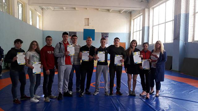 На вихідних у Вінниці відбувся обласний чемпіонат з вільної боротьби