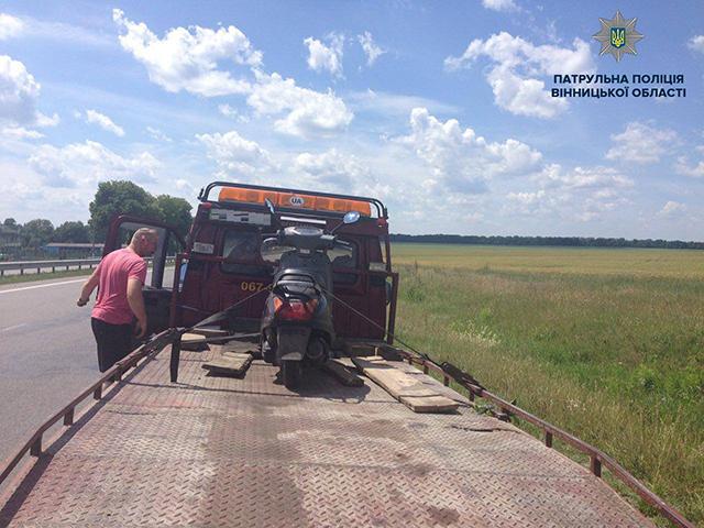 З початком літа патрульні майже щодня виявляють нетверезих керманичів двоколісних транспортних засобів