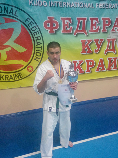 На Кубку України з КУДО перше місце виборов вінницький рятувальник