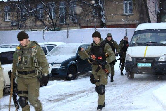 """Виконавши бойові завдання, із зони АТО повернулися бійці спецпідрозділу """"Сокіл"""""""