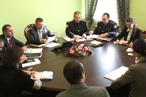 Представники ОБСЄ обговорили із керівництвом Вінницького УМВС питання дотримання прав людини