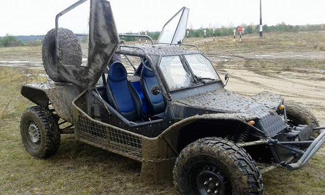 авто, зроблене для військових розвідників