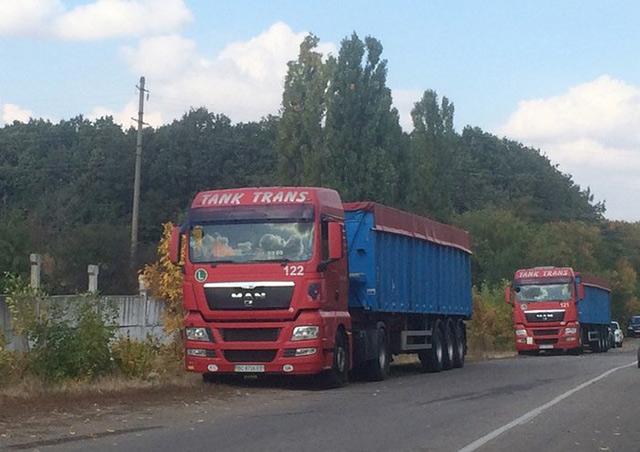 Блокування фур з львівським сміттям