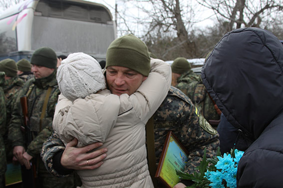 """Громада Попасної визнала батальйон """"Вінниця"""" найкращим підрозділом серед силових структур"""