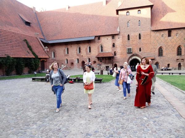 Замок Мальборк у Гданську