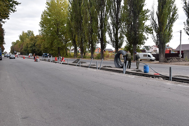 У Вінниці на трьох перехрестях проводяться капітальні ремонтні роботи