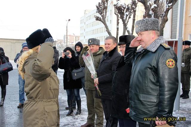Дев'ять сімей вінницьких нацгвардійців отримали ключі від нових помешкань