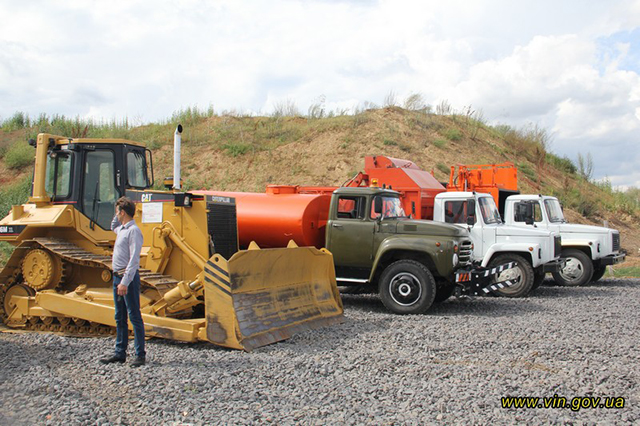 В Тульчині швейцарці відкрили полігон побутових відходів та запровадили роздільне сортування сміття