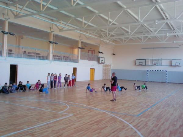 спортивный зал в школе Минска