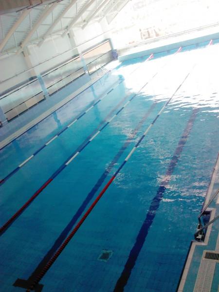 бассейн в Минской школе