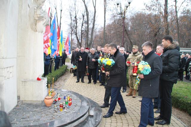 У Вінниці відбувся мітинг-реквієм з нагоди Дня пам'яті жертв Голодомору