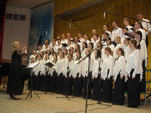 Народна хорова капела ВДПУ ім. М. Коцюбинського відсвяткувала свій 60-річний ювілей