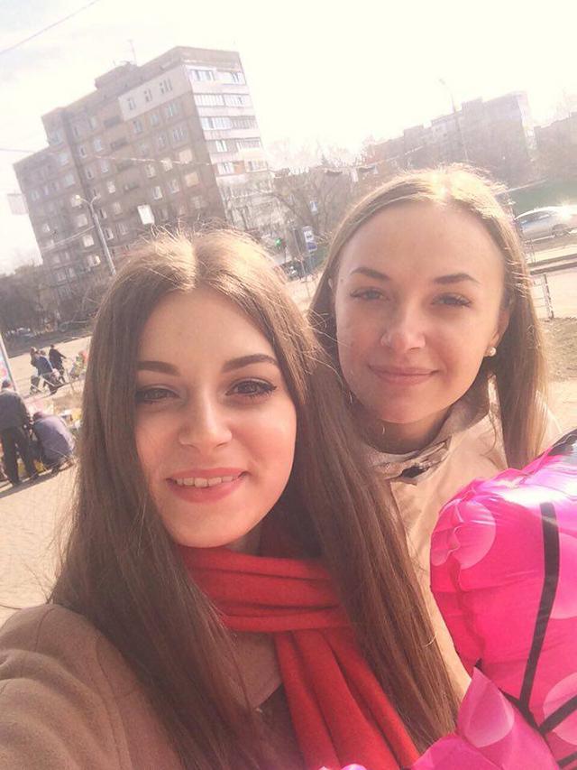 Діана Подолянчук та Ярослава Пилипенко