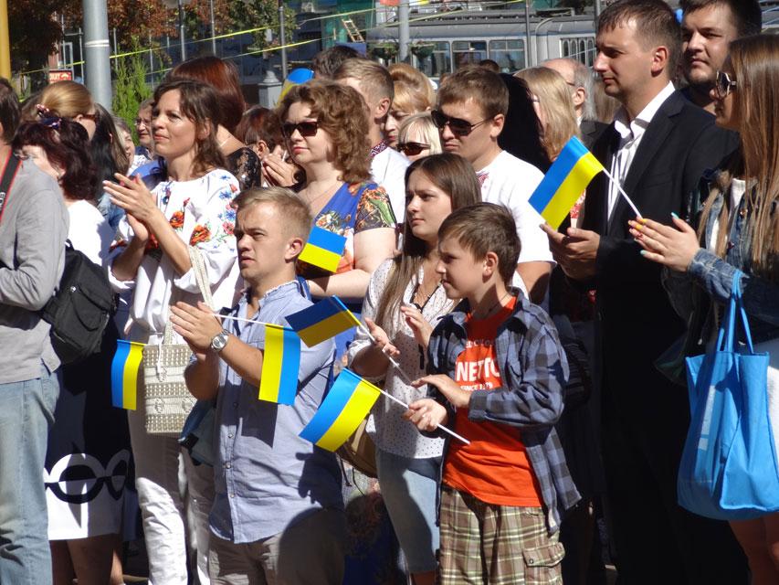 Вінничани відзначають День Державного Прапора України