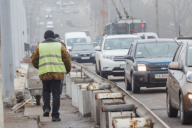 Цього року завершиться реконструкція мосту по вул. Чорновола та розпочнеться новий масштабний інфраструктурний проект по вул. Замостянській