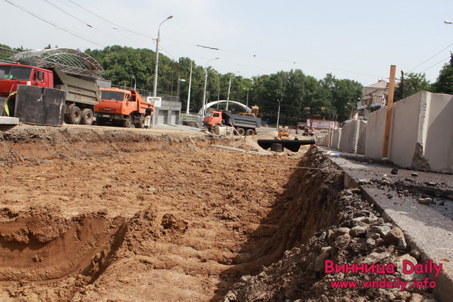 Як у Вінниці площу Гагаріна реконструюють