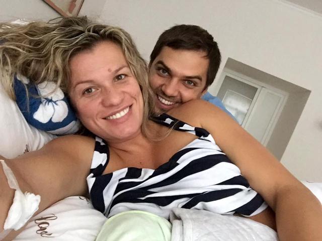 Найвідоміша вінницька спортсменка Наталія Добринська вдруге стала мамою