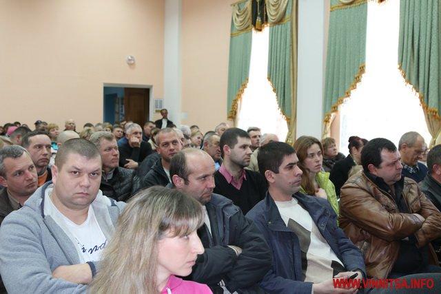 Вінничани погодили новий генплан території, що між Сабарівським шосе та дорогою на Шкуринці