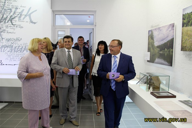 На Вінниччині відкрито сучасний меморіальний комплекс Миколи Леонтовича