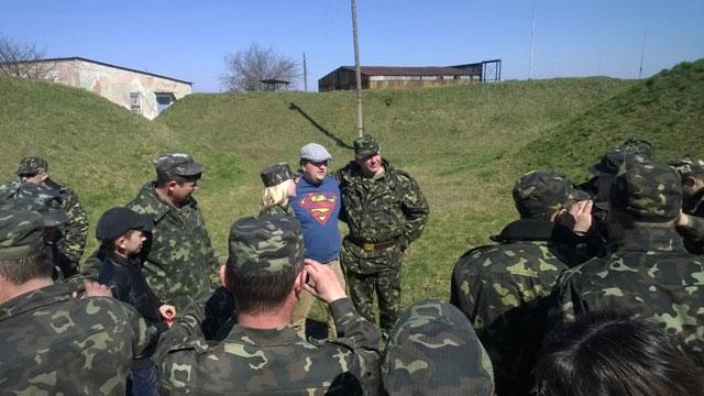 «ТІК» виступав перед українськими військовослужбовцями