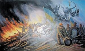 До Вінниці привезуть художню виставку «Майдан Гідності»