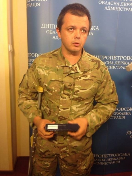"Легендарний комбат ""Донбасу"" Семен Семенченко показав обличчя"