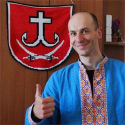Олег Крупський , керівник розвитку велосипедної інфраструктури міста
