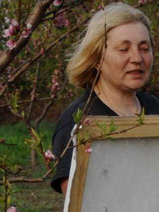 Київська художниця Лариса Пуханова творитиме замальовки для вінничан