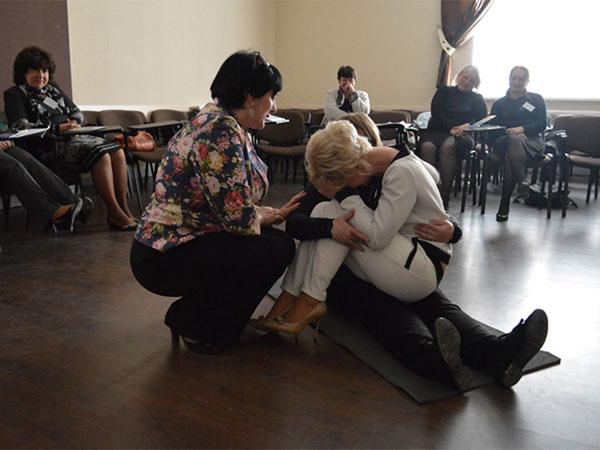 У Вінниці відбувся тренінг для психологів та соціальних педагогів, які працюють з дітьми-переселенцями