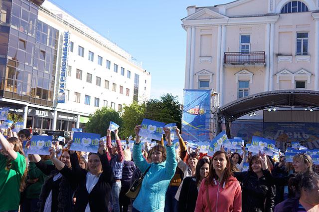 У День Європи відбувся найчисельніший студентській фестиваль «Вінницька Студентська весна 2015»