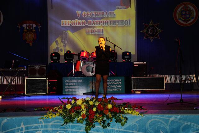 На фестивалі героїко-патріотичної пісні вінницькі рятувальники отримали Гран-прі