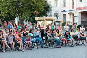 «Кінодворик»: якісне українське кіно просто неба