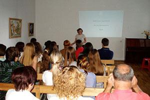 Режисерка Анастасія Любченко розповіла вінничанам про особливості театрального мистецтва