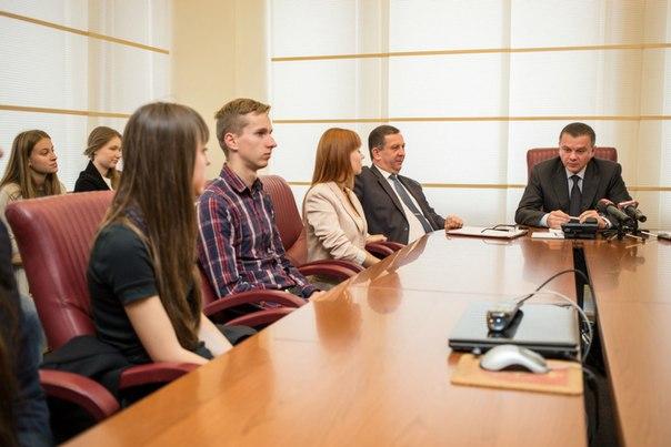 Сергій Моргунов обговорював розвиток Вінниці з Молодіжною радою міста