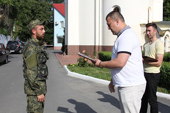 Вінницькі оперативники повернулись із зони АТО