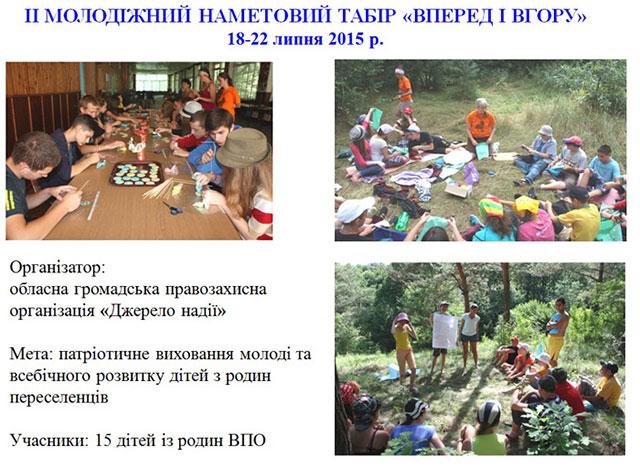 У літніх таборах Вінницької області вже відпочили понад 57 тисяч діток