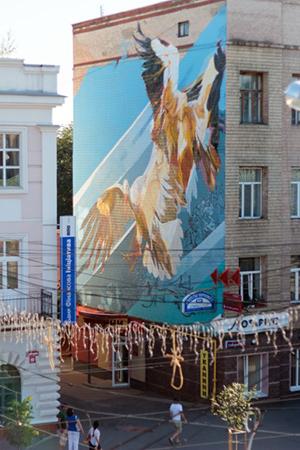 Три з п'яти робіт фіналістів проекту Vin-Mural вже прикрашають вінницькі стіни