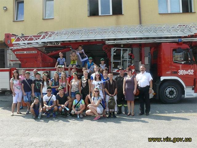 Діти вінницьких атошників у Польщі ходили у скаутські походи та спробували себе у ролі альпіністів