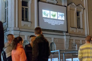«Відкритий кінопростір» щовечора збирає вінничан на перегляд актуального кіно просто неба