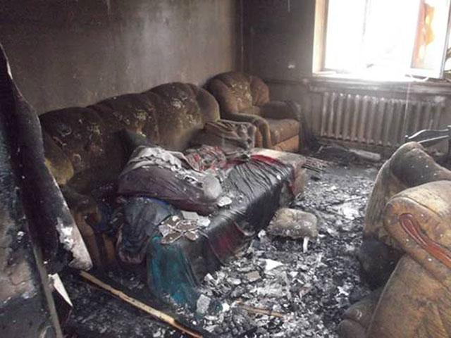Через коротке замикання на Вінниччині загорівся будинок