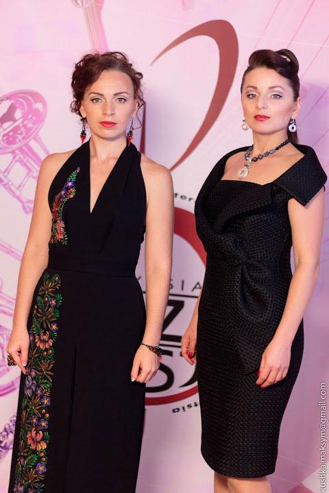 Людмила Квєтна створює одяг у джазовому стилі
