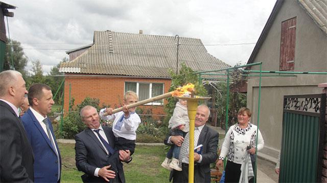 На Вінниччині газифіковано ще одне село