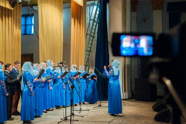 У Вінниці відбувся перший молодіжний фестиваль духовної та патріотичної пісні