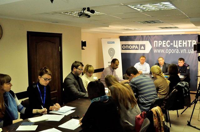 У Вінниці обговорили співпрацю для запобігання фальсифікації місцевих виборів