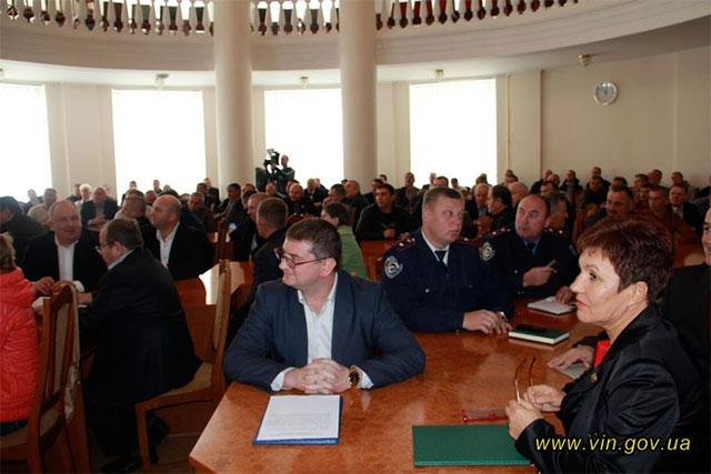 У Вінниці відбулись урочистості з нагоди відзначення Дня автомобіліста та дорожника