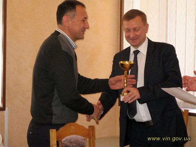 У Вінниці нагородили переможців обласної спартакіади науково-педагогічних працівників вузів