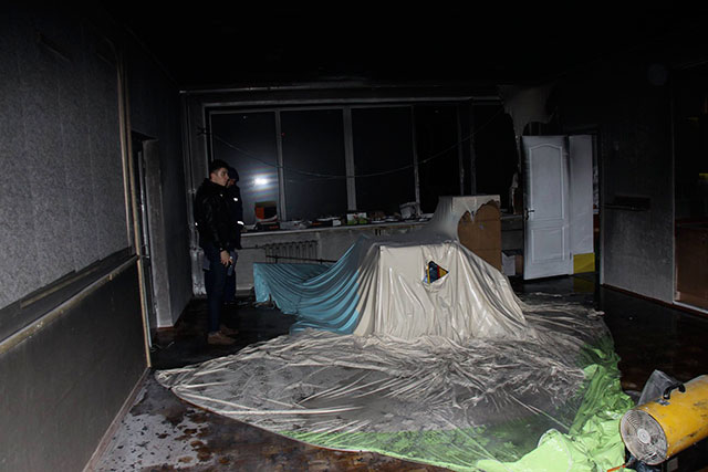 Вчора ввечорі на 600-річчя сталася пожежа у дитячому садочку