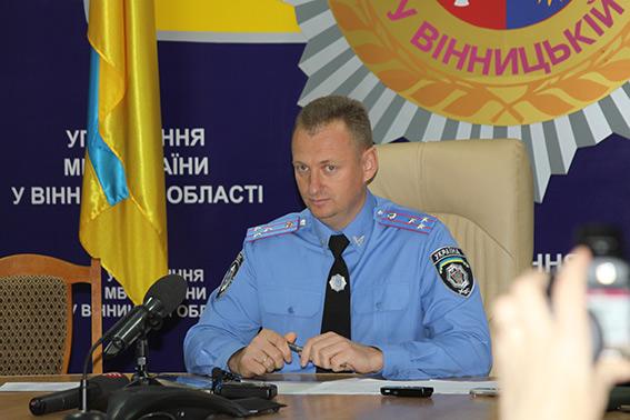 Сергій Кримчук розповів, як працюватиме вінницька міліція на етапі реформування