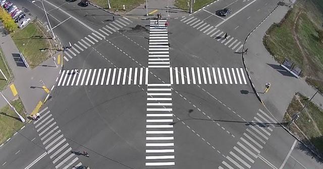 На трьох перехрестях Вінниці планують облаштувати перші в Україні діагональні пішохідні переходи