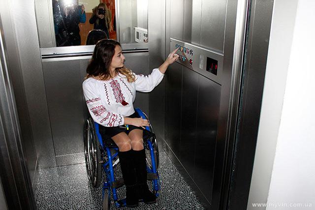 Ліфт у школі